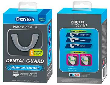 dentek mouth guard reviews