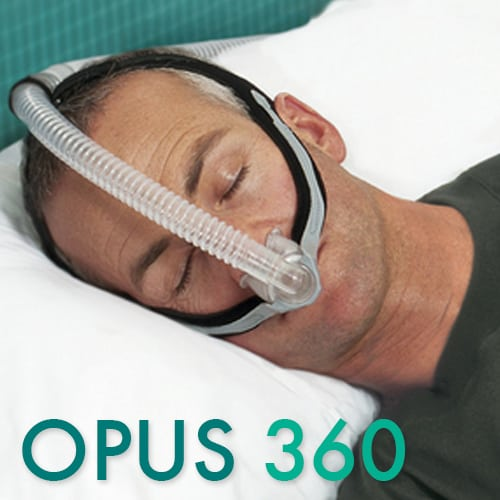opus cpap mask nasal pillows