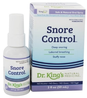 Dr. Kings Natural Medicine Snore Control