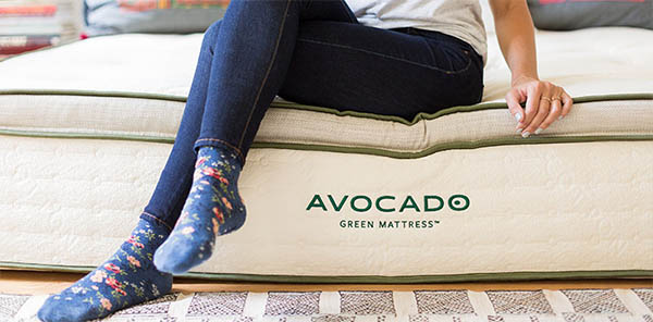 avocado green mattress bounce