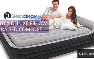 Intex Deluxe Pillowrest Raised Comfort Review 26