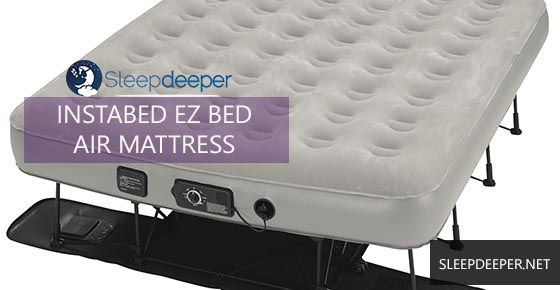 instabed ez bed air mattress review