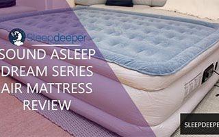 sound asleep air mattress review