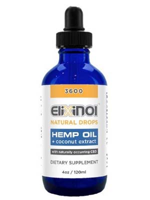 Elixinol CBD Natural Drops